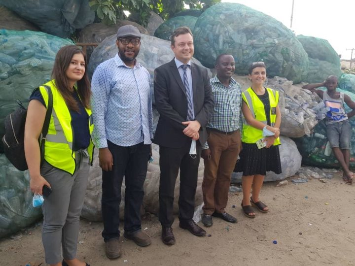 European Union Ambassador to Nigeria pays RecyclePoints a Visit