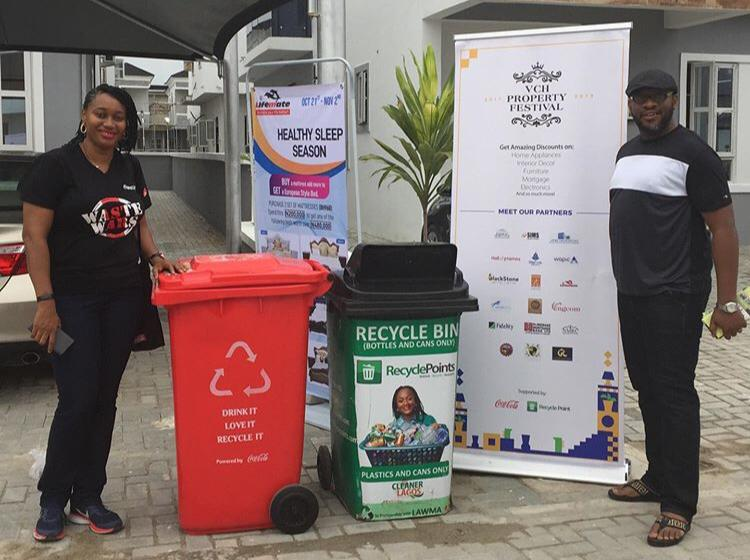 RecyclePoints works with Coca-Cola Nigeria to Launch Aggressive Waste Recycling in Residential Estate in Lagos