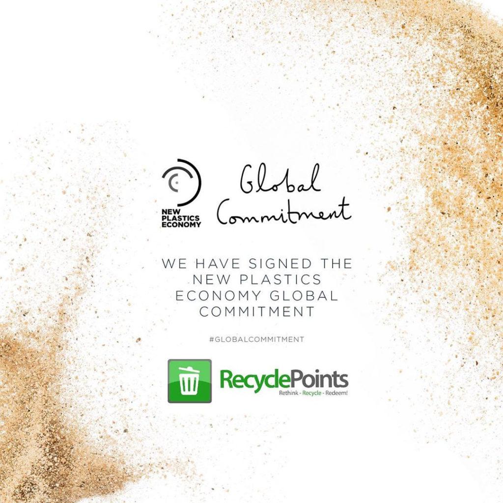 New Plastics Economy's Global Commitment Signing
