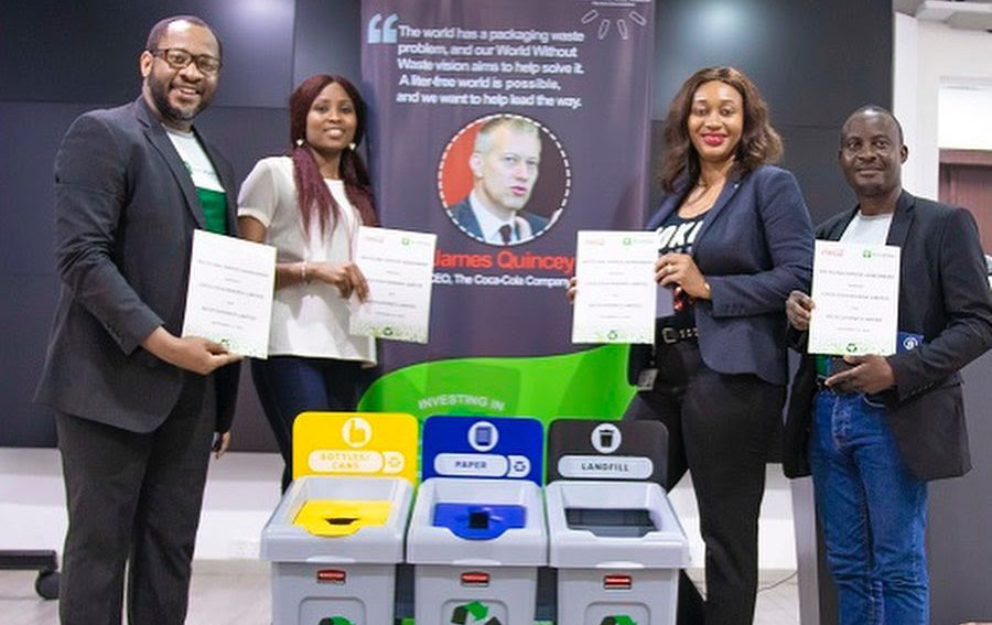 Corporate Recycling Partnership with Coca-Cola
