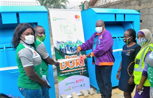 RecyclePoints Partners with Mastercard Foundation